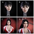YMToys - YMT08ABCD - 1/6 Scale Female Headsculpt