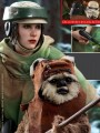 Hot Toys MMS551 - 1/6 Scale Figure - Star Wars Ep.6 - Princess Leia & Wicket