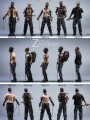 Pocket World - PW2012A/B/C/D - 1/12 Scale - Zombie Type A/B/C/D/E