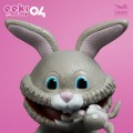Stingray Art Studio - EEK! Big Mouth Horror Series #04 Bunnyman ( 4.5 Inch Tall )