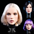 YMToys - 1/6 Scale Female Headsculpt ( A/B/C )