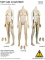 Flirty Girl - 1/6 Female Medium Bust Body Pale / Light Tan