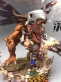 Dimension Power - Metal Greymon Statue