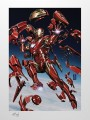 Sideshow Collectibles - 500950 - Deluxe Fine Art Print - Tony Stark Iron Man